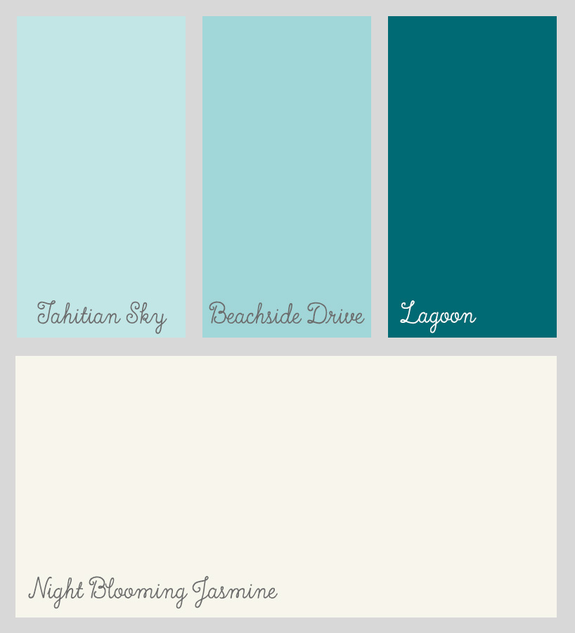 Melodie's Inspiration Color Swatches