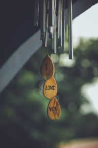 Image of a wind chime to add beautiful sound to your living space
